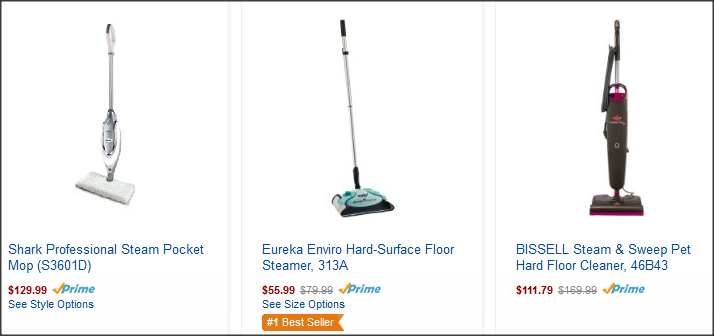 Top 3 Steam Cleaners For Tile